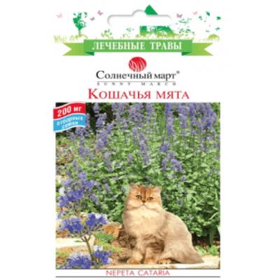 Кошачья мята (Лекарственные растения)